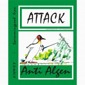 Anti Algue - Green - 1L - ATTACK